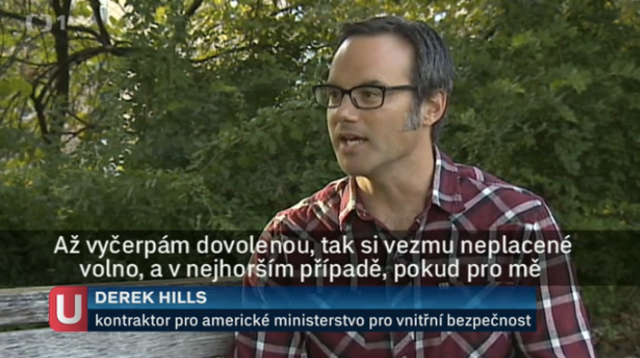 Derek on Czech TV